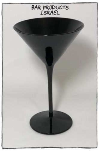כוס מרטיני שחורה