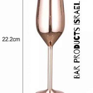 כוס-שמפניה-בצבע-ברונזה