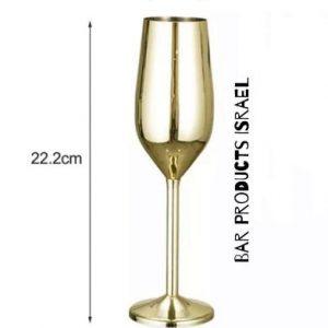 כוס-שמפניה-בצבע-זהב