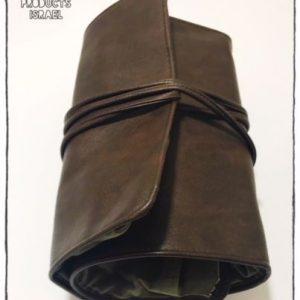 תיק רול מקצועי בצבע חום (בלי ציוד)
