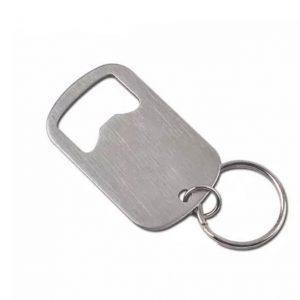 פותחן מחזיק מפתחות כולל חריטה של לוגו או הקדשה