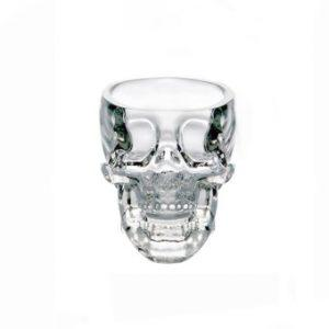 צ׳ייסר זכוכית גולגולת 75 מל