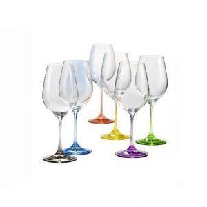 כוסות יין ריינבו
