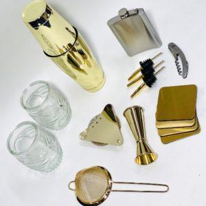 מארז יוקרתי צבע זהב כולל חריטה חינם